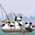 三只熊猫在日本