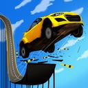 坡道飞跃特技赛车